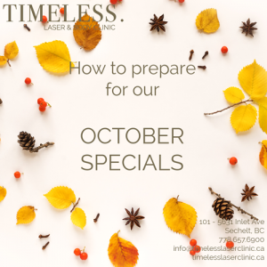 Preparing for our October Specials – LHR